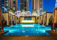 Pool, Vida Downtown Hotel, Dubai