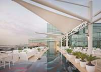 Rooftop pool & Cuba bar, Jumeirah Creekside Hotel, Dubai