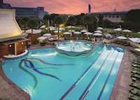 Main pool, Jumeirah Creekside Hotel, Dubai