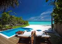 Beach Villa with Pool, Velassaru Island, Maldive Island