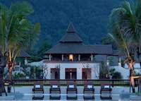 View from the pool at the Layana Resort & Spa, Koh Lanta
