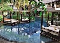 Swimming pool at Villa Samadhi