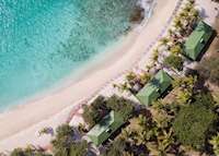 Ariel View, Palm Island Resort & Spa, Palm Island