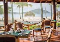Royal Palm Restaurant, Palm Island Resort & Spa, Palm Island