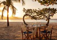 Beach Dining, Palm Island Resort & Spa, Palm Island
