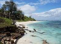 Beach, Denis Island