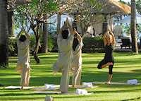 Yoga at Spa Village Resort Tembok Bali