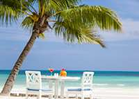 Beach view, Paradise Sun , Praslin