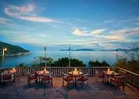 Dining by the rocks, Six Senses Ninh Van Bay , Nha Trang