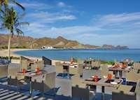 Beach Pavilion restaurant, Al Bustan Palace, Muscat