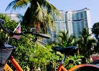Morning cycling in Kampong Baru and Chow Kit, Kuala Lumpur