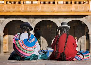 Women in Cuzco, Peru