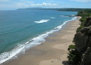 Tango Mar beach, Tambor