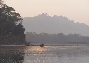 River safari, Chitwan