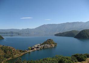 Lige, Lu Gu Lake, China