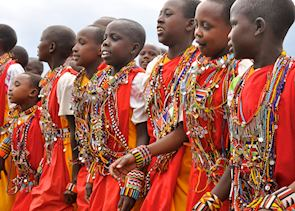 Watch the Maasai children perform a traditional dance, Me to We Kenya
