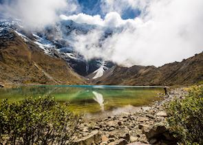 Typical scenery on Mountain Lodges of Peru Salkantay route