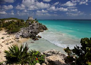 Mayan watch tower, Tulum