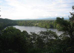 View across Chalalan Lake