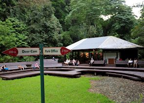 Deer cave Bat view point and information hut