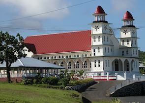 Typical village church, Savai'i