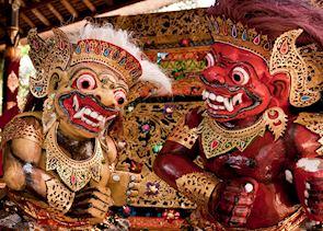 Traditional Balinese statues, Ubud