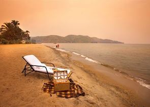 Beach at Lake Kivu