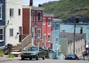 Colourful Houses, St John's