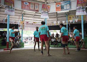 Chinlone festival, Mandalay