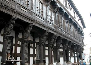 Typical Gujarati architecture, Ahmedabad