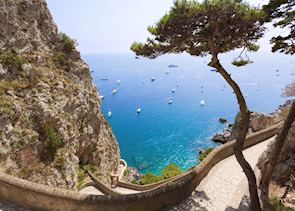 Sea view, Capri