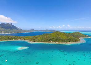 Bora Bora from the air