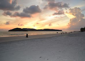 Last light on Pantai Cenang, Langkawi