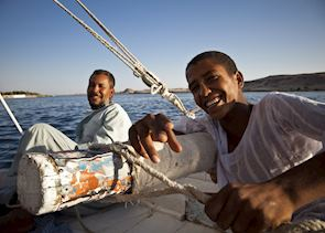 Felucca boat, Egypt