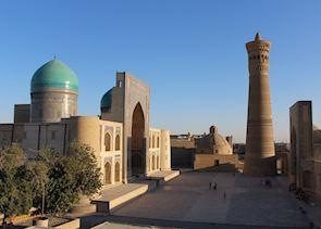 Minaret in Bukhara