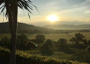 Sunrise breakfast over Kui Buri