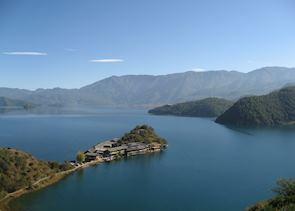 Lige, Lu Gu Lake