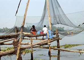Traditional fishing nets, Cochin