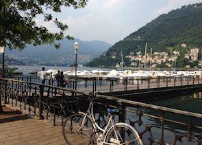 Como harbour, Lake Como