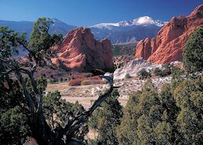 Garden of the Gods near Colorado Springs, Colorado