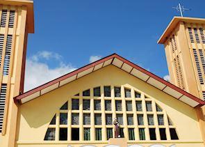 Catholic church, Wolotopo near Ende