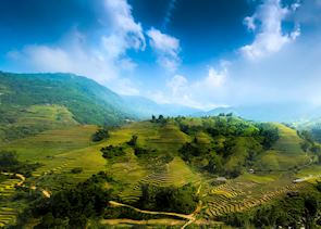 Rice terraces, Ifugao province