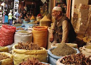 Marrakesh souq