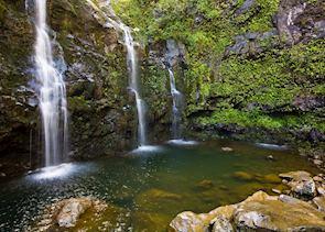 Waterfall, Hana, Maui (Source: HTA / Tor Johnson)