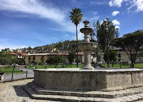 Main square, Cajamarca