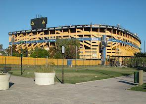 """La Bonbonera"", Boca Juniors football stadium, Buenos Aires, Argentina"