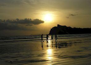 Sunset on Kho Lanta