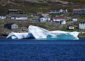 Iceberg in St Anthony, Northern Peninsula, Newfoundland