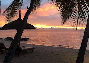Sunset, The Oberoi Mauritius, Mauritius