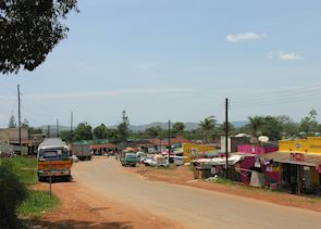 Suburbs of Entebbe